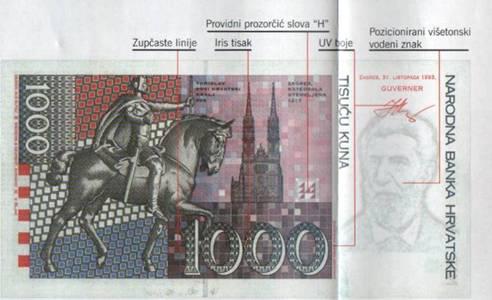 Kako raspoznati krivotvorinu novčanice od 1000 kuna  Image004