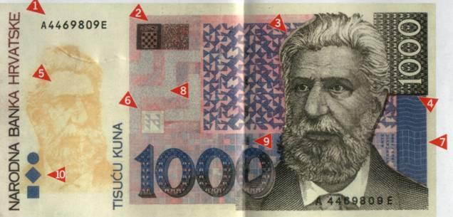 Kako raspoznati krivotvorinu novčanice od 1000 kuna  Image018
